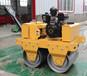 柴油壓路機雙鋼輪壓路機手扶式震動壓路車液壓雙驅壓路機