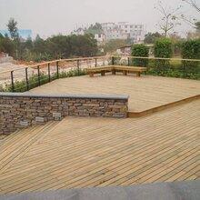 儋州防腐木地板厂家定制图片