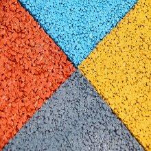 供應廣東廣州透水地坪材料廠家彩色混泥土地面施工圖片