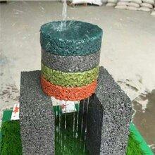 廣東清遠彩色透水混凝土源頭廠家透水地坪材料施工優質服務圖片