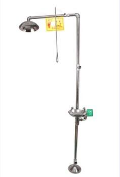 XC6610复合式洗眼器验厂洗眼器紧急喷淋洗眼器