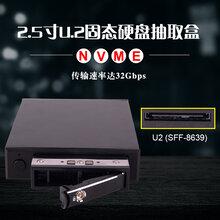ST2516U22.5寸U.2NVMESSD軟驅位熱插拔內置高速硬盤抽取盒圖片