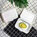 一次性快餐盒外賣打包盒生產廠家可降解飯盒小麥秸稈餐具盒