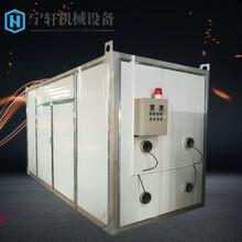 烘干房醫藥熱風循環烘箱食品食品中藥材干燥箱托盤烘干機圖片
