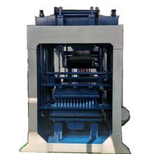 小型液压全自动免烧砖机水泥免托板制砖机设备移动式水泥砖机图片