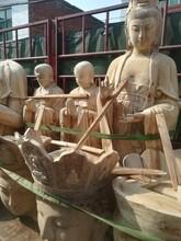 沈陽香樟木雕佛像定制圖片