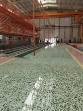格爾木機務段現澆水磨石地坪效果分享圖片