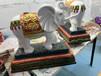 惠安石雕、石雕大象造型、单牙象、六牙象(惠安石雕杰源石业)