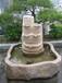 戶外園林景觀石雕、庭院噴泉、石雕流水缽、小型流水缽