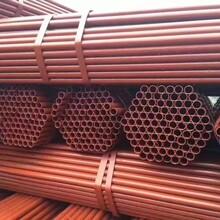 架子管扣件建筑工地鋼管1.5寸外架鋼管48mm腳手架鋼管廠家圖片