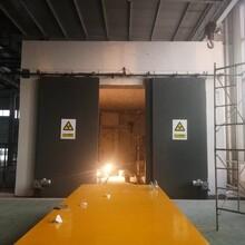山东工业探伤门防护门生产图片