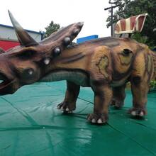 西双版纳仿真恐龙制作精良图片