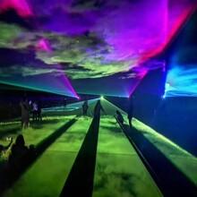 东莞北极光舞台激光灯设备-极光秀图片