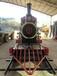 麗江復古火車模型,蒸汽火車模型