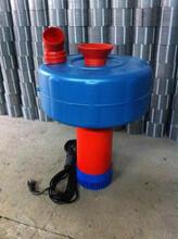 4寸2200W瓦单相220V蟹塘浮水泵鱼塘增氧机图片