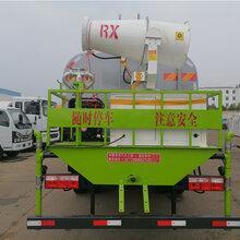 东风大福瑞卡10吨抑尘车采购,多功能洒水车图片