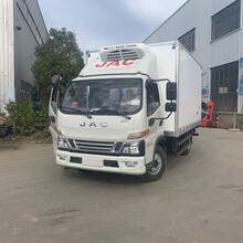 跑中長途冷藏車江淮駿鈴V6國五藍牌冷藏車圖片