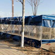 銷售推拉雨棚活動雨棚伸縮雨篷移動推拉篷經久耐用,工程防塵棚圖片