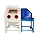 浙江转台式推进式喷砂机模具除锈去氧化皮手动喷砂机