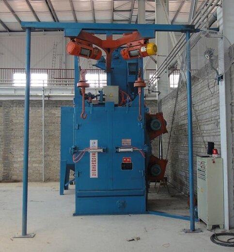 江蘇大型吊鉤式拋丸設備沖壓件除銹去氧化層拋丸機