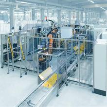 湖南8080歐標工業鋁型材圍欄安裝圖片