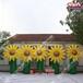 定制充氣向日葵花仿真太陽花模型園林景觀藝術氣模公園售樓處園藝布置