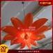 定制商場春季美陳氣模道具充氣花朵發光假花懸掛吊頂花定制景觀布置