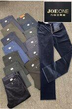 国内一二线品牌加绒卫裤牛仔裤走份低价处理图片
