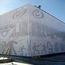 雕花鏤空鋁單板幕墻鋁單板造型鋁單板沖孔鋁單板廠家定制圖片