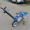 380V小车手推式砂带机抛光机钢板焊缝磨平