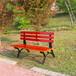 瑞達戶外公園長椅實木休閑座椅防淋防曬不易褪色