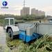 河渠水草垃圾打撈船水面除草保潔船河道水面垃圾打撈船