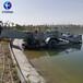 清理水面垃圾打撈船水面水草收割割草船水葫蘆水花生打撈船