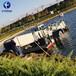 福建清理水面雜草收割船水生植物清漂船保潔船水面清漂船