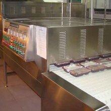 快餐盒飯微波加熱設備,微波食品生產設備產品型號:FT—60S圖片