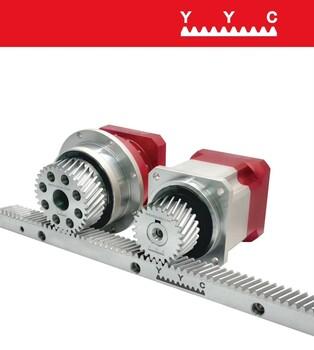 鋁材加工中心精密齒輪齒條