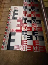 不銹鋼水位尺生產廠家水庫標尺水電站水文尺水尺片圖片