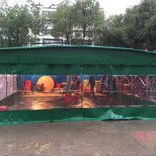 西安中赞生产推拉雨棚,物流蓬,宵夜蓬,工厂雨棚图片
