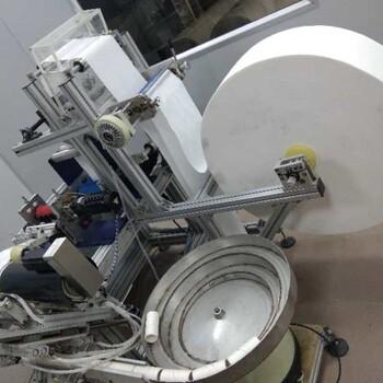 广拓机械全自动柔巾复卷机