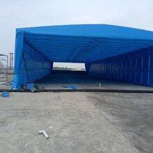 西安中赞生产推拉棚物流棚工厂雨棚大排档帐篷遮阳棚图片