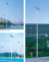 成都高杆灯户外20米升降式广场灯——四川三百里厂家定制、直销图片