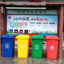 南通垃圾分类亭厂家定制图片