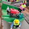 自走現澆水渠成型機邊溝滑膜機混凝土渠道成型機