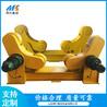 管道環縫重型焊接滾輪架廠家山東明行40噸自調式焊接滾輪架