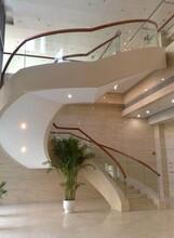 兰州别墅钢构异形楼梯安装价格图片