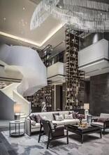 新疆医院钢构异形楼梯设计价格图片