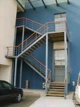 江西商场工程消防楼梯设计团队图片