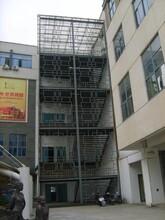 湖北会所工程消防楼梯制作服务图片
