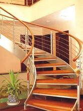北京会所钢构住宅楼梯设计公司图片