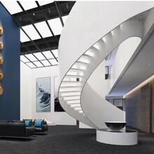 上海东森游戏主管厂箱体弧形楼梯设计团队图片